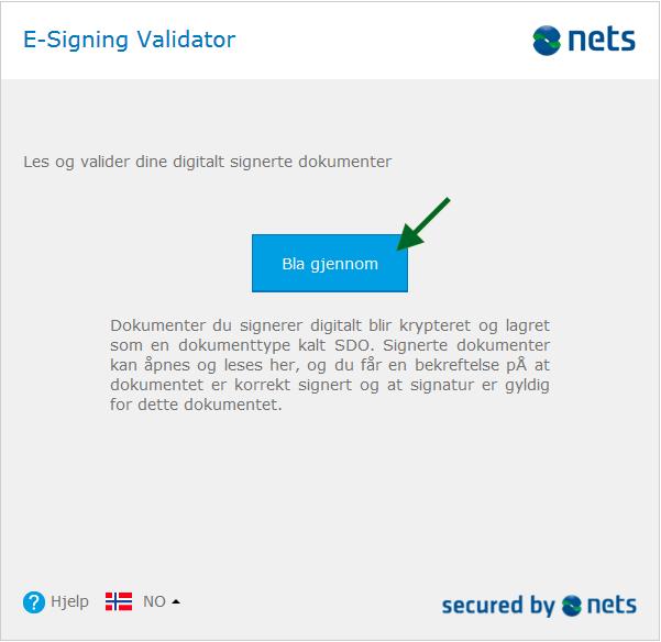 Signering med vanligt bankID?